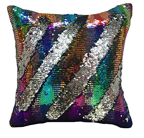 Reversible Mermaid sequin pillow case