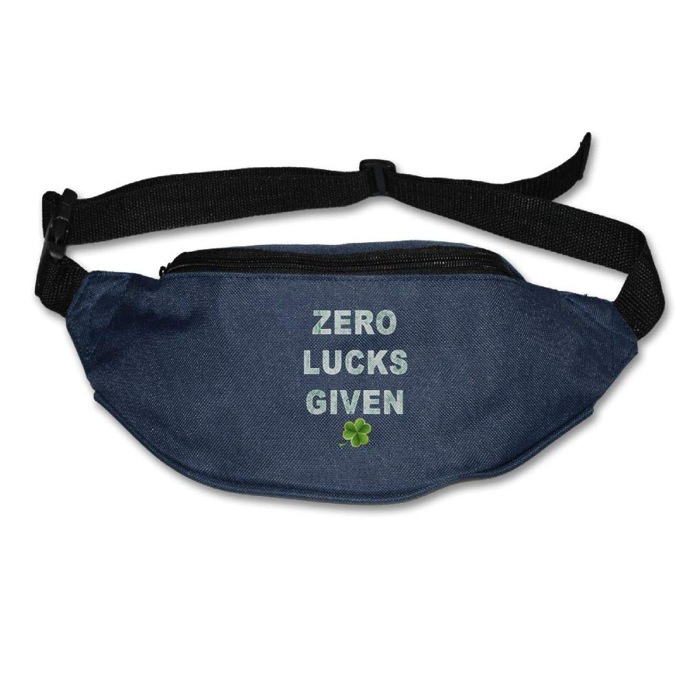 Ada Kitto Zero Lucks Given Mens&Womens Lightweight Waist Pack For Running And Cycling Navy One Size