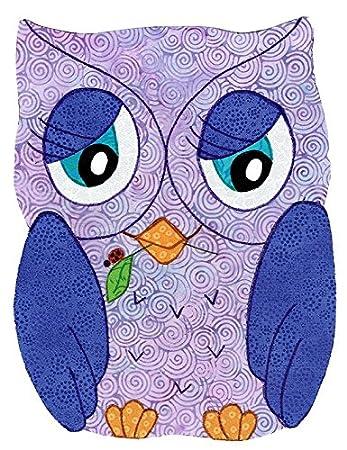 Amazon com: Baby Quilt Patterns by Kiddie Komfies, Owl