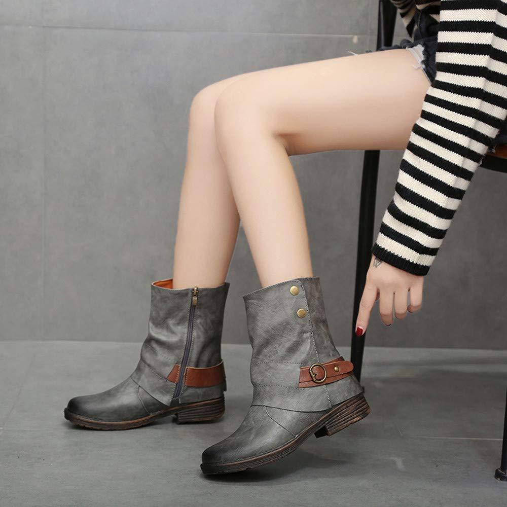K-youth Botas Mujer Invierno 2019 Moda Zapatos Mujer ...