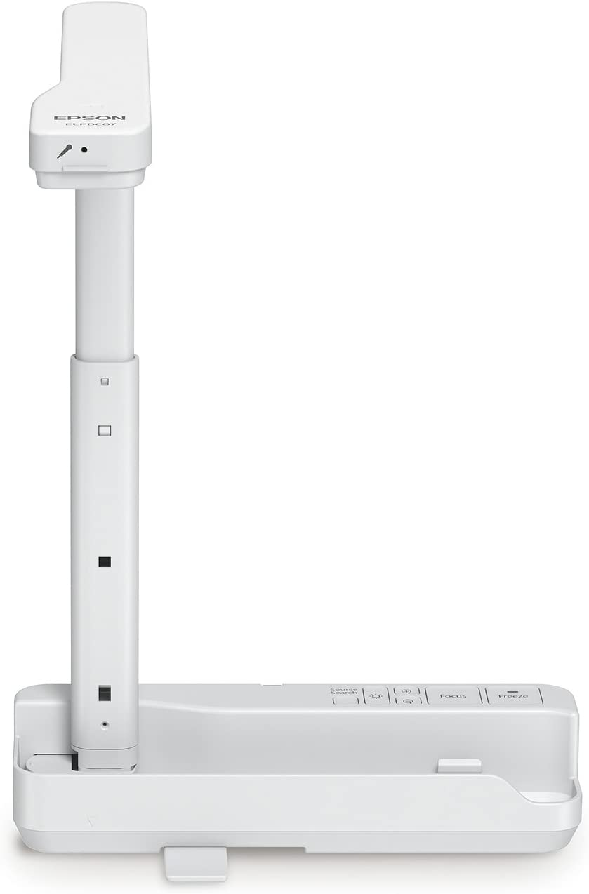Epson DC-07 Portable Document Camera with USB Connectivity and 1080p Resolution,White