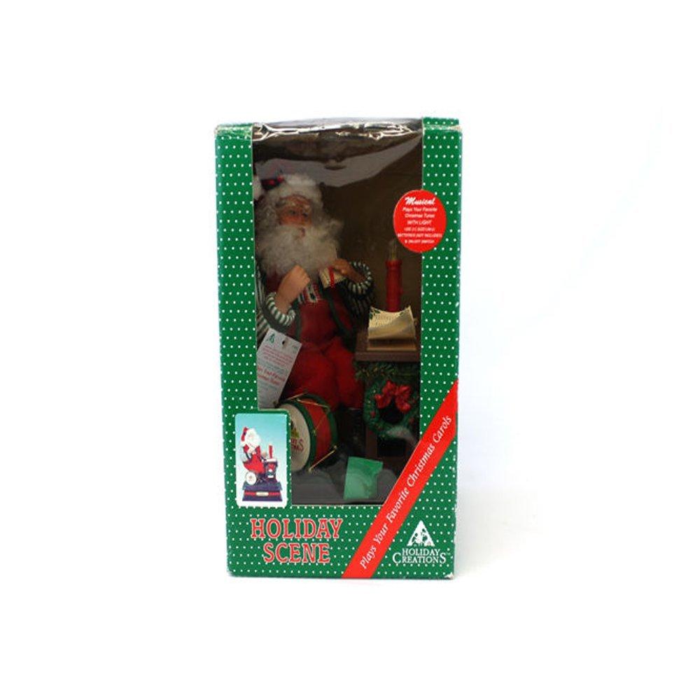 【楽ギフ_のし宛書】 1990 holiday holiday creations B013OGS4ZY Letters Noel音楽ボックスサンタat hisデスクReading Letters B013OGS4ZY, 【創業100年】 ひめじやネット通販:d7e21005 --- arcego.dominiotemporario.com