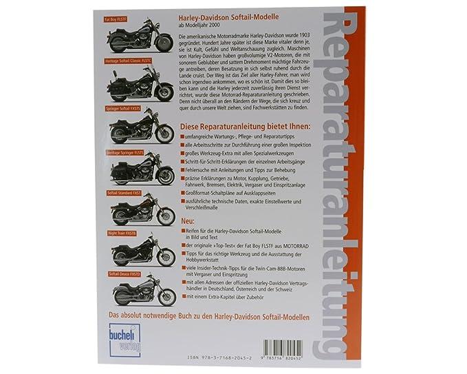 Harley Davidson Anleitung Softail-Modelle FLSTF,FLSTC,FLSTS,FXST ...