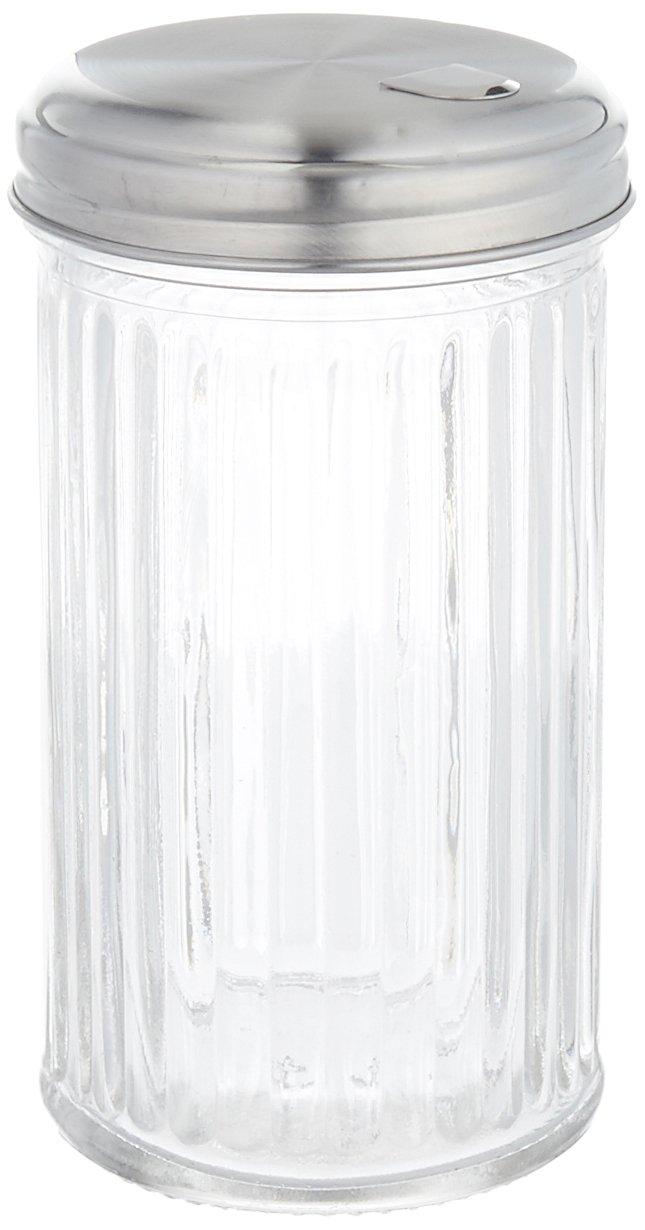 Anchor Hocking Essentials Glass Sugar Dispenser, 12 Ounce 801001