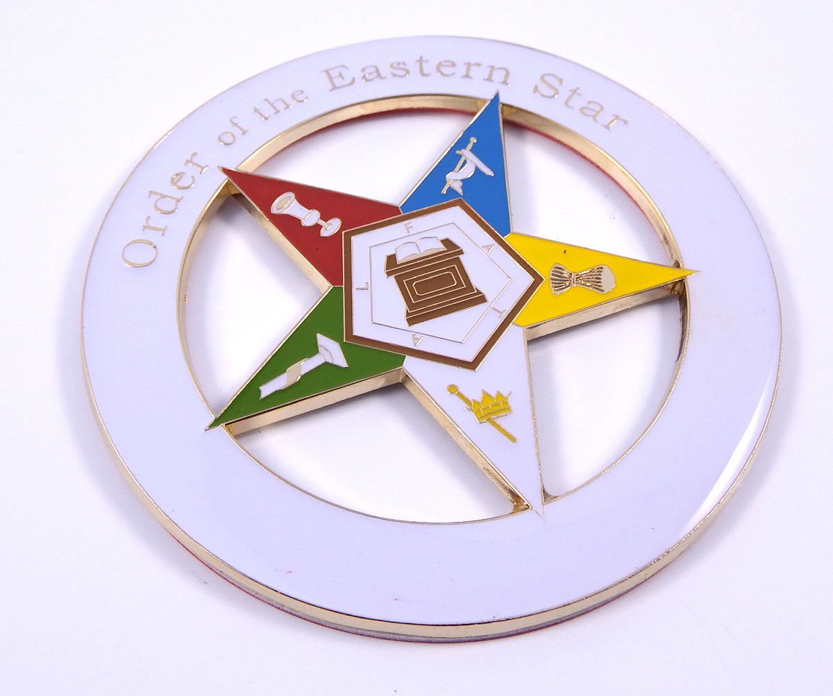 Aplique Orden de la Estrella de Pascua Masónica 3 3D MAS8