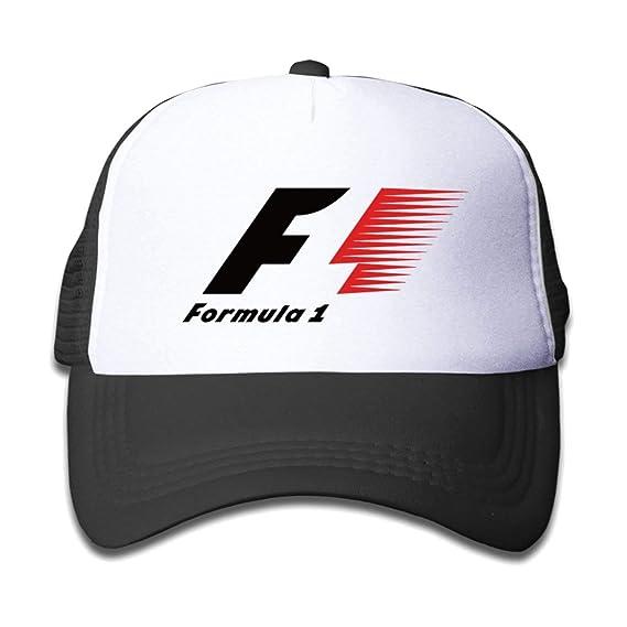 kjhglp F1 Formula 1 Auto Racing Unisex Baseball Caps Black: Amazon ...