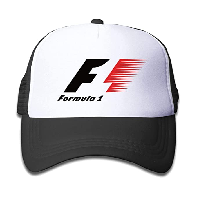 kjhglp F1 Formula 1 Auto Racing Unisex Baseball Caps Black: Amazon ...