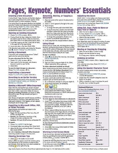 pages keynote numbers for mac essentials versions x 2 quick rh amazon com Windows vs Mac User Mac Computer
