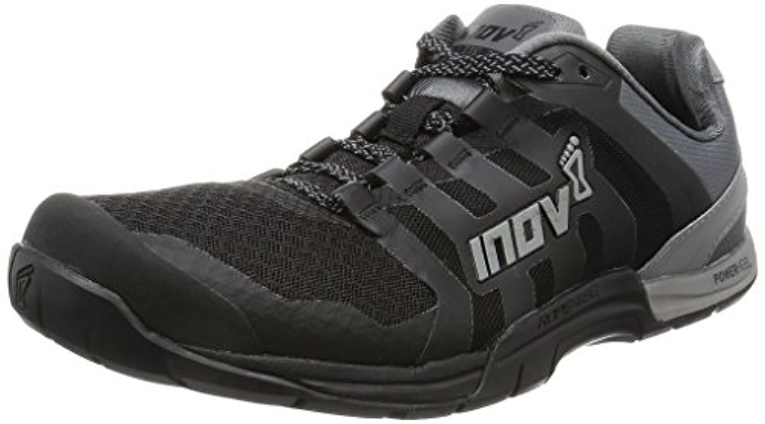 Inov8 Men's F-Lite 235 V2 Cross-Trainer Shoes & Workout Visor Bundle B074P91SWL M12.5|Black / Grey