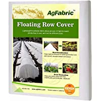 Agfabric Floating Row Covers 5×25ft Plant Covers Freeze Protection, Frost Blanket for Vegetables & Plants