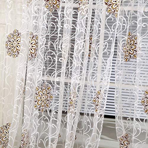 Iulove_Bathroom Products Line String Window Curtain Tassel Door Room Divider Scarf Valance