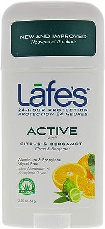 Desodorante Natural Stick Retrátil Active - 63 Mg - Lafe´S, Lafe´S
