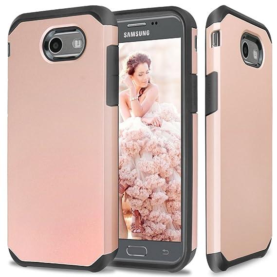 promo code fe6e7 86313 TJS Samsung Galaxy J7 Sky Pro Case, Galaxy J7 Perx Case, Galaxy J7 V Case,  Galaxy Halo Case, Galaxy J7 Prime Case, Tjs Ultra Thin Slim Hybrid ...