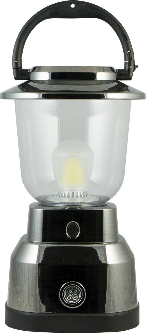 GE 14210 Enbrighten Lantern with Nickel Plating, LED, Water Resistant by GE Enbrighten