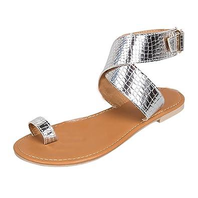 Sandales Sandale Plates Chaussure Magiyard Tongs Romaines OXiuZPk