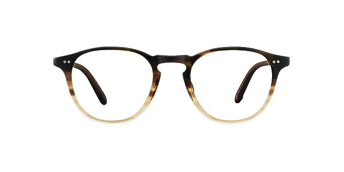 558d2323c41 Amazon.com  Garrett Leight Round Hampton Eyeglasses in Sandalwood ...