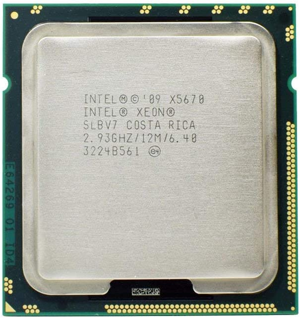 Intel Xeon SLBV7 X5670 2.93GHz 6.4GT//s 12MB L3 Cache Socket LGA1366