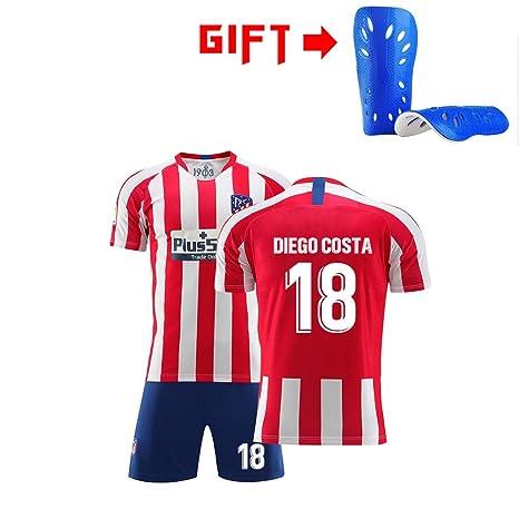 HS-HWH316 Atlético Madrid # 18 Diego Costa Fútbol Traje ...