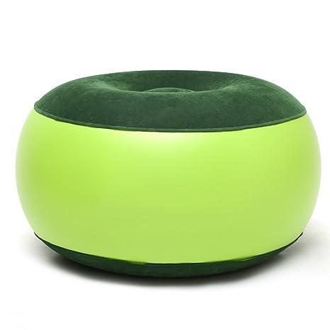 cohk sillón hinchable resistente portátil al aire libre silla de ...