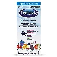 Pedialyte Electrolyte Powder, Variety Pack, Electrolyte Hydration Drink, 0.3 Oz...