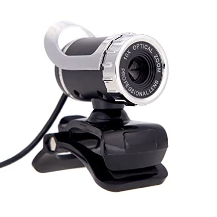 Webcam - SODIAL(R)HD Webcam de 12 megapixeles Camara giratoria de 360 grados