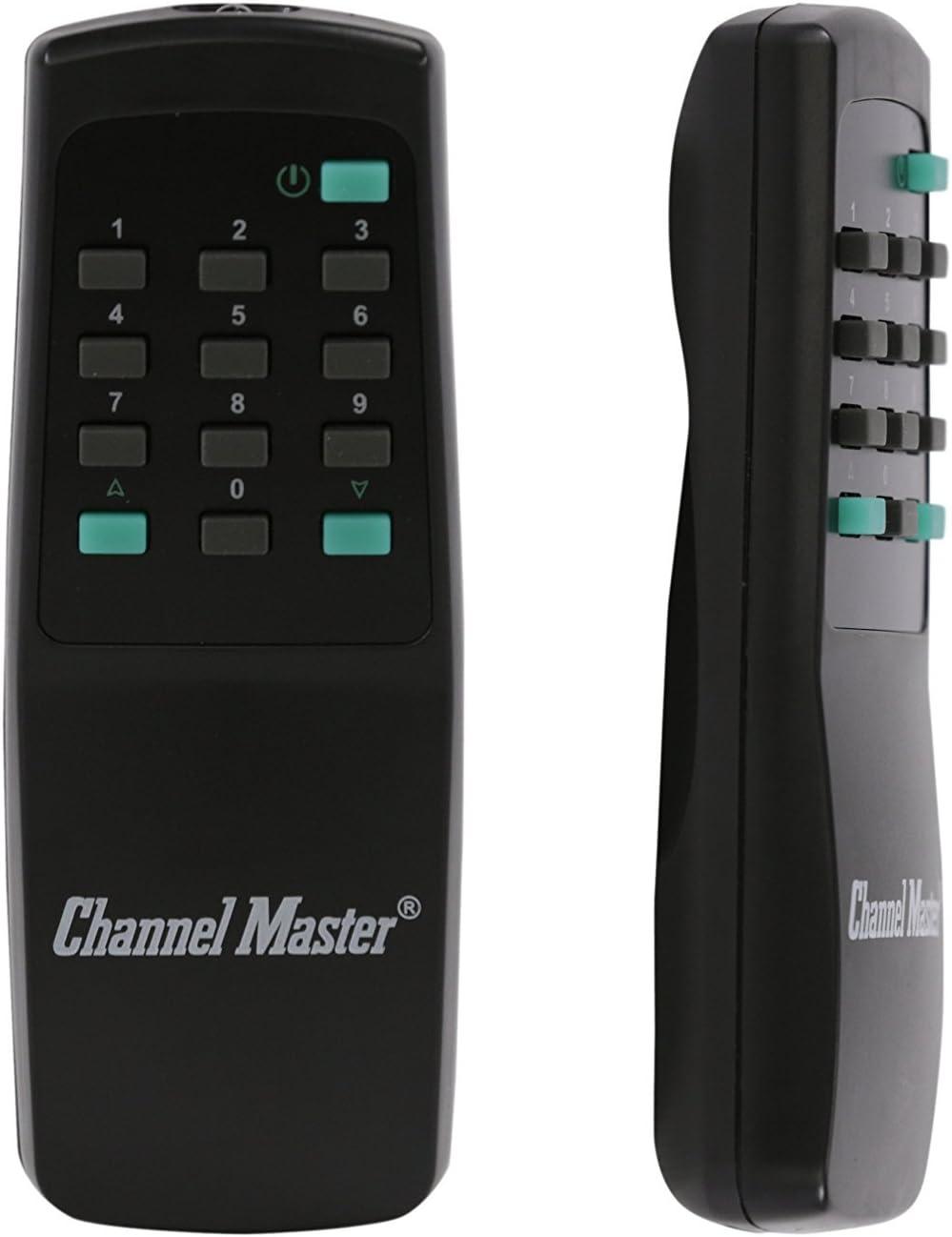 Channel Master CM-9521HD - Sistema de rotación de antena completo con cable giratorio de 50 pies para TV, HAM, CB, WiFi, recepción de radio