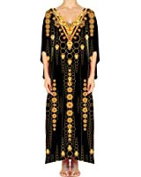 Women's Turkish Kaftan Beachwear Swimwear Bikini Cover ups Beach Dresses DG21-1