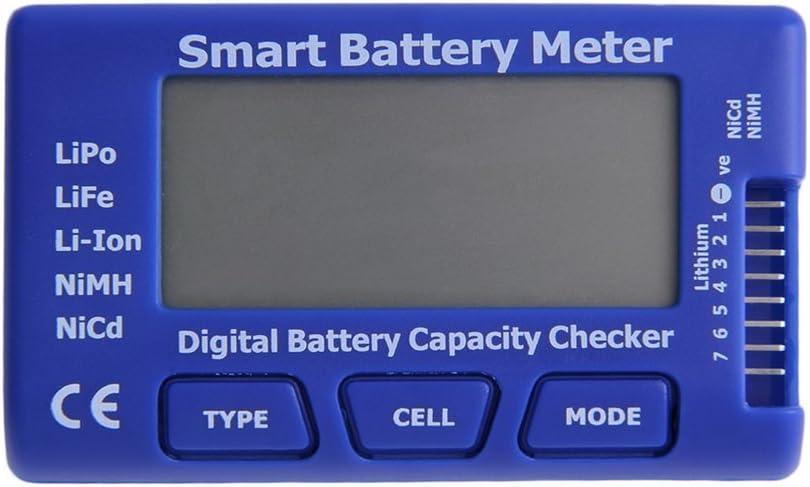 FairytaleMM 5 in 1 Smart Battery Meter with Balance Discharge ESC Servo PPM Tester