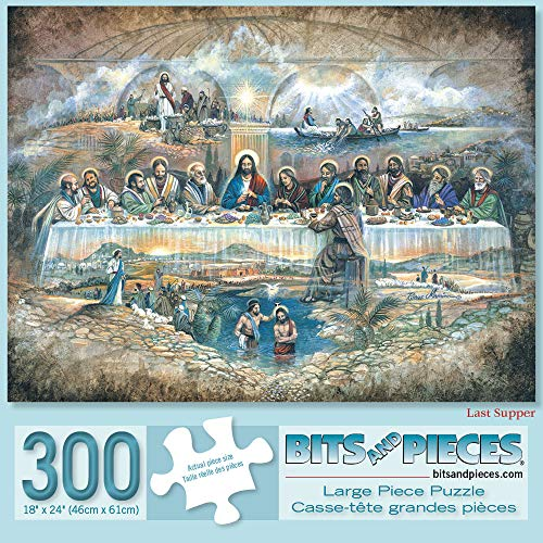 Bits and Pieces - 300 Piece Jigsaw Puzzle for Adults 18