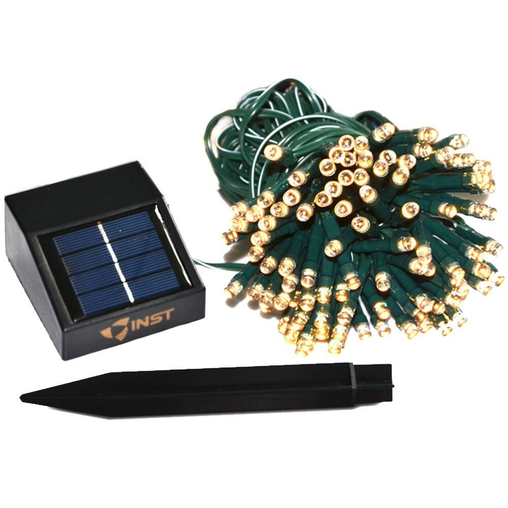 Solar Line Lights Part - 42: Amazon.com: INST Solar Powered LED String Light, Ambiance Lighting, 54.5ft  17m 100 LED Solar Fairy String Lights For Outdoor, Gardens, Homes, ...