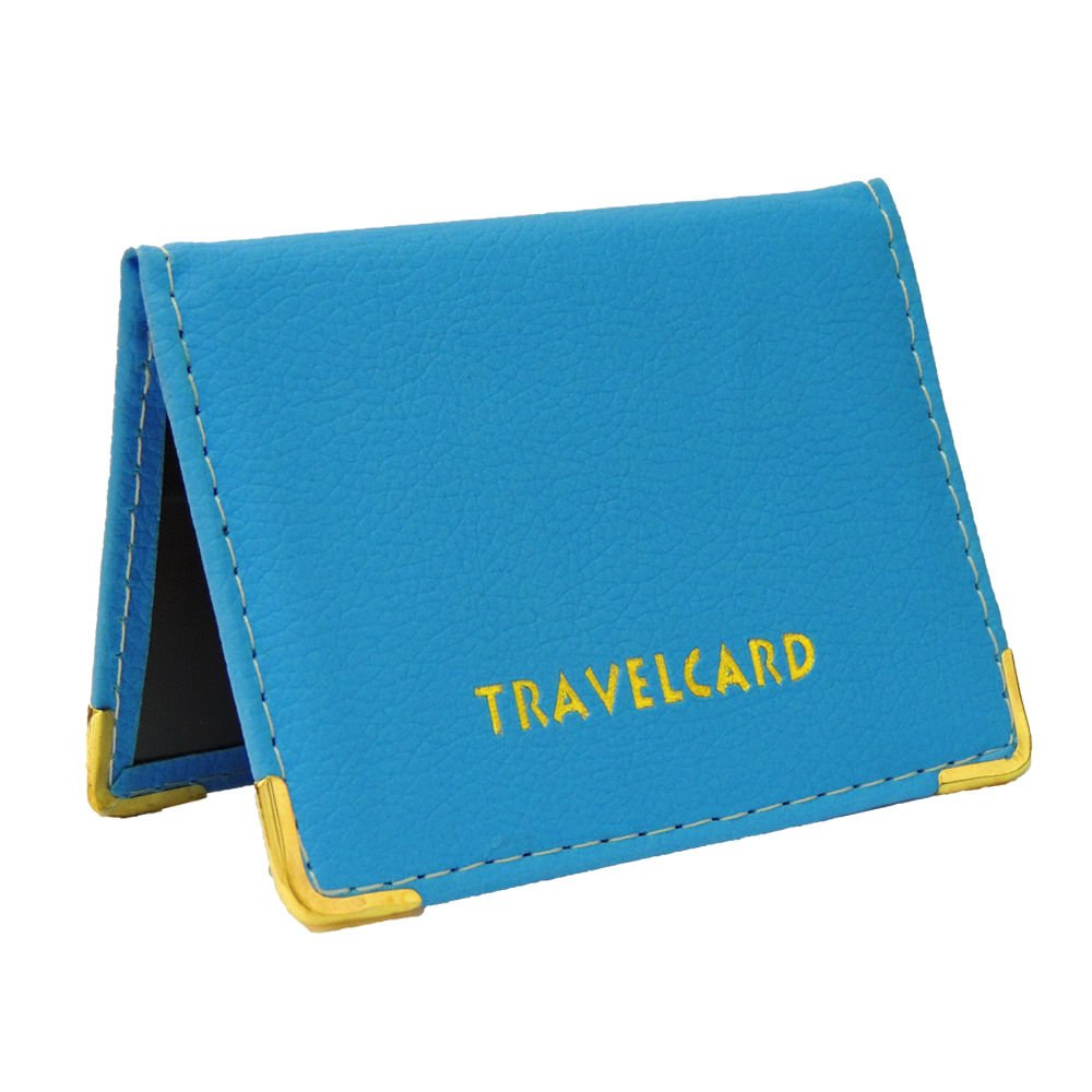 NEW LEATHER OYSTER HOT PINK TRAVEL CARD BUS PASS HOLDER WALLET RAIL CARD COVER CASE SHUKAN FASHIONS P160