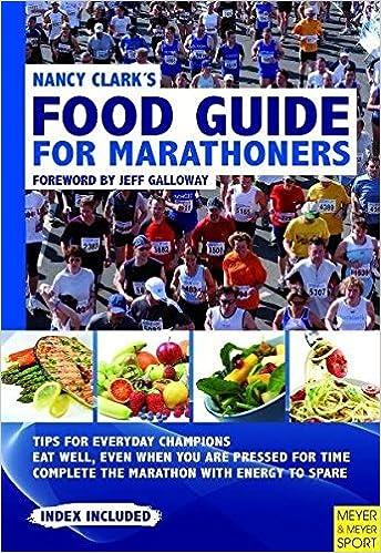 Téléchargez des ebooks epub gratuits pour kindle Nancy Clark's Food Guide for Marathoners: Tips for Everyday Champions by Nancy Clark (2011-04-15) PDF CHM ePub by Nancy Clark
