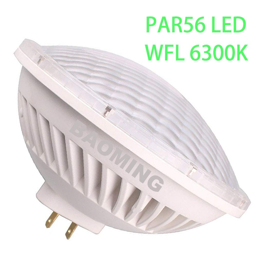 BAOMING Par56 LED Bulb,Flood Lighting 120Deg GX16D AC/120V ...