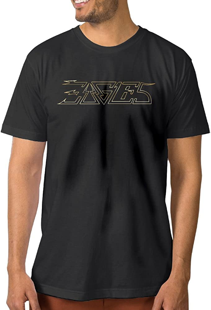 Eagles banda oro Logo negro hombres de camisetas