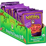 Annies Homegrown Organic Berry Patch Bunny Fruit Snacks, 0.8 Ounce - 18 per case.