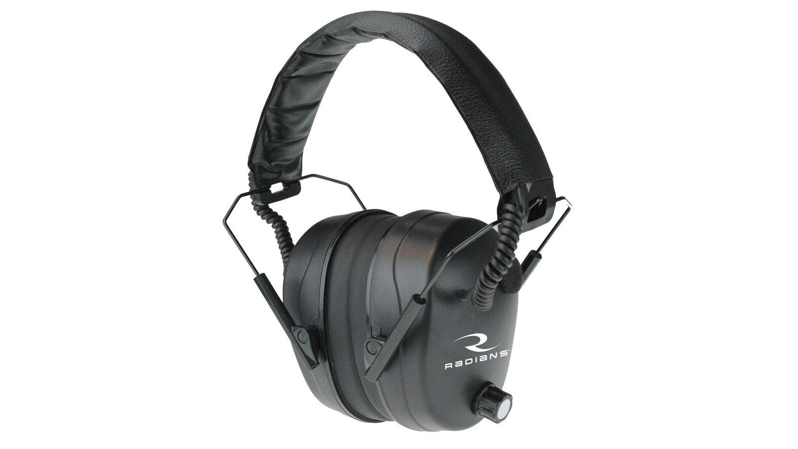 Radians 432-Ehp Electronic Ear Muff, Black