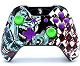 """Clown"" Xbox One Rapid Fire Custom Modded Controller 40 Mods for All Major Shooter Games, Auto Aim, Quick Scope, Auto Run, Sniper Breath, Jump Shot, Active Reload & More (3.5 mm jack)"