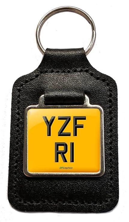 bpgraphics YZF R1 preciados número placa llavero llavero ...
