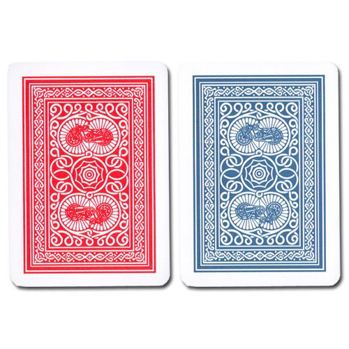 Modiano 2 Decks of 100% Plastic Italian Playing Cards - Old Trophy - Poker Size Regular Index (Modiano Plastic 100% Italian)
