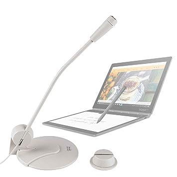 DURAGADGET Micrófono De Sobremesa para Portátil Lenovo Yoga ...