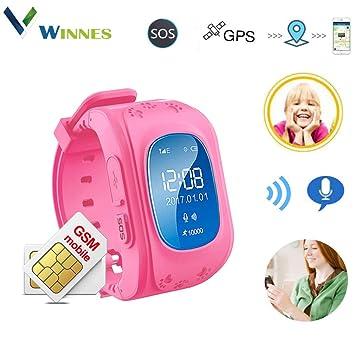 Reloj Inteligente niño, Telefono Reloj Inteligente niña Smart ...