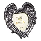 Best Picture Frames With Heart Shaped - Alchemy Gothic Winged Heart Photo Frame (Silver) Review