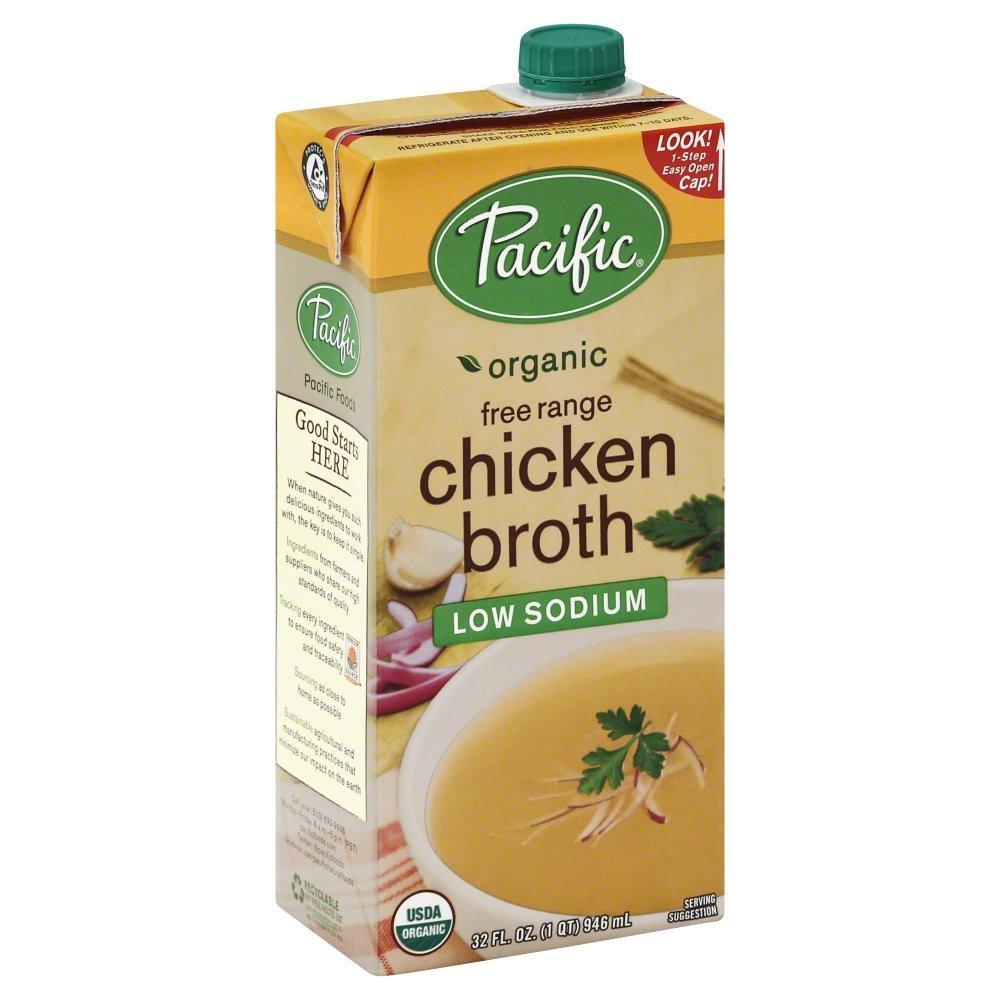 Pacific Foods Broth Chkn Ls Org