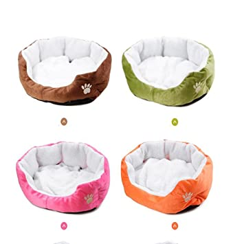 Pet Online Cama del perro mascota cama súper suave paño ...