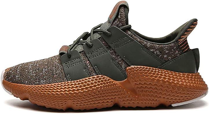 Zapatillas de Running para Hombre Primavera otoño Zapatillas de Deporte Ligeras y Transpirables Zapatillas amortiguadoras con Amortiguador de Golpes: Amazon.es: Zapatos y complementos