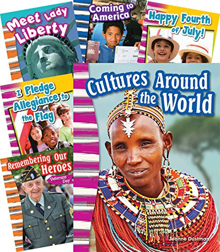 Teacher Created Materials - Primary Source Readers: This is My Country - 12 Book Set - Grades K-3 - Guided Reading Level A - M