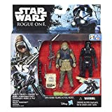 Star Wars Rogue One Imperial Death Trooper and Rebel Commando Pao 3.75 Inch Action Figures