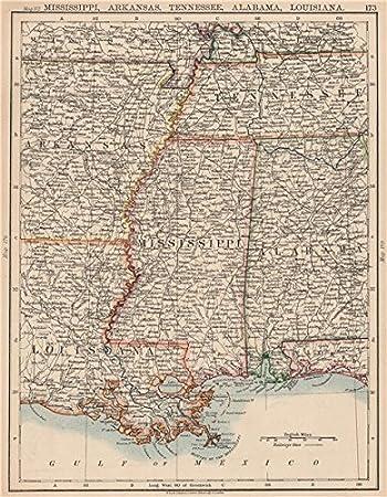 Amazoncom MISSISSIPPI VALLEY Mississippi Arkansas Tennessee