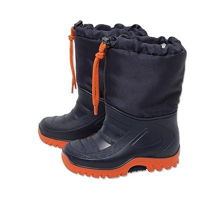 premium selection d0f01 7977f Kleinkinder Jungen Schneestiefel schwarz-orange Gr. 25/26 ...
