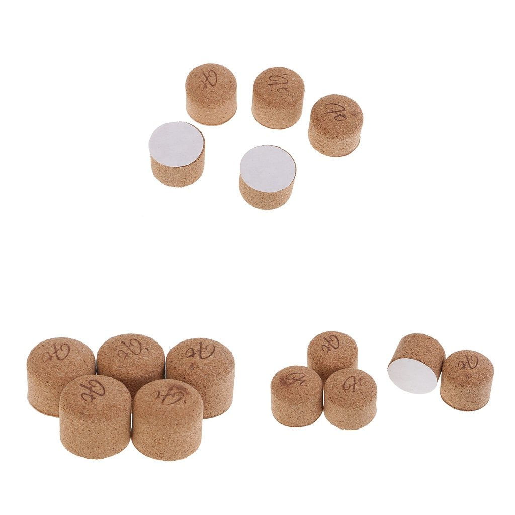 D DOLITY 15Pcs Cork Pipe Knocker Soft Wood Cork Stopper Tobacco Supplies Cleaning Tool